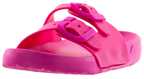 Beppi Mädchen Pantoletten - Flache Pinke Mädchenschuhe Pink Gr. 26