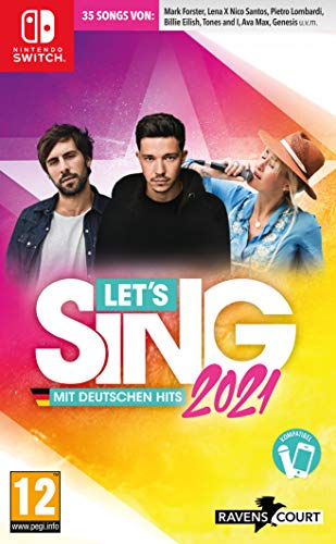 Let's Sing 2021 mit deutschen Hits - Nintendo Switch [AT-PEGI] [Importación alemana]