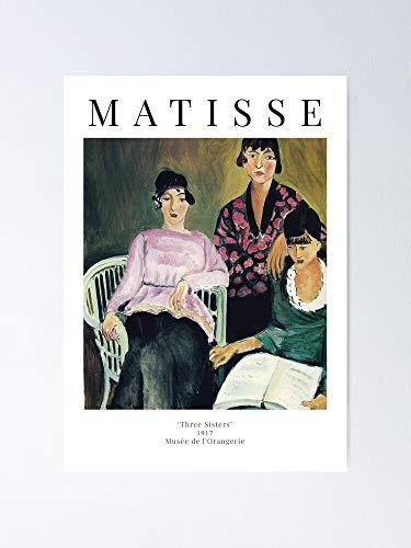 AZSTEEL Henri Matisse - Three Sisters Exhibition Poster