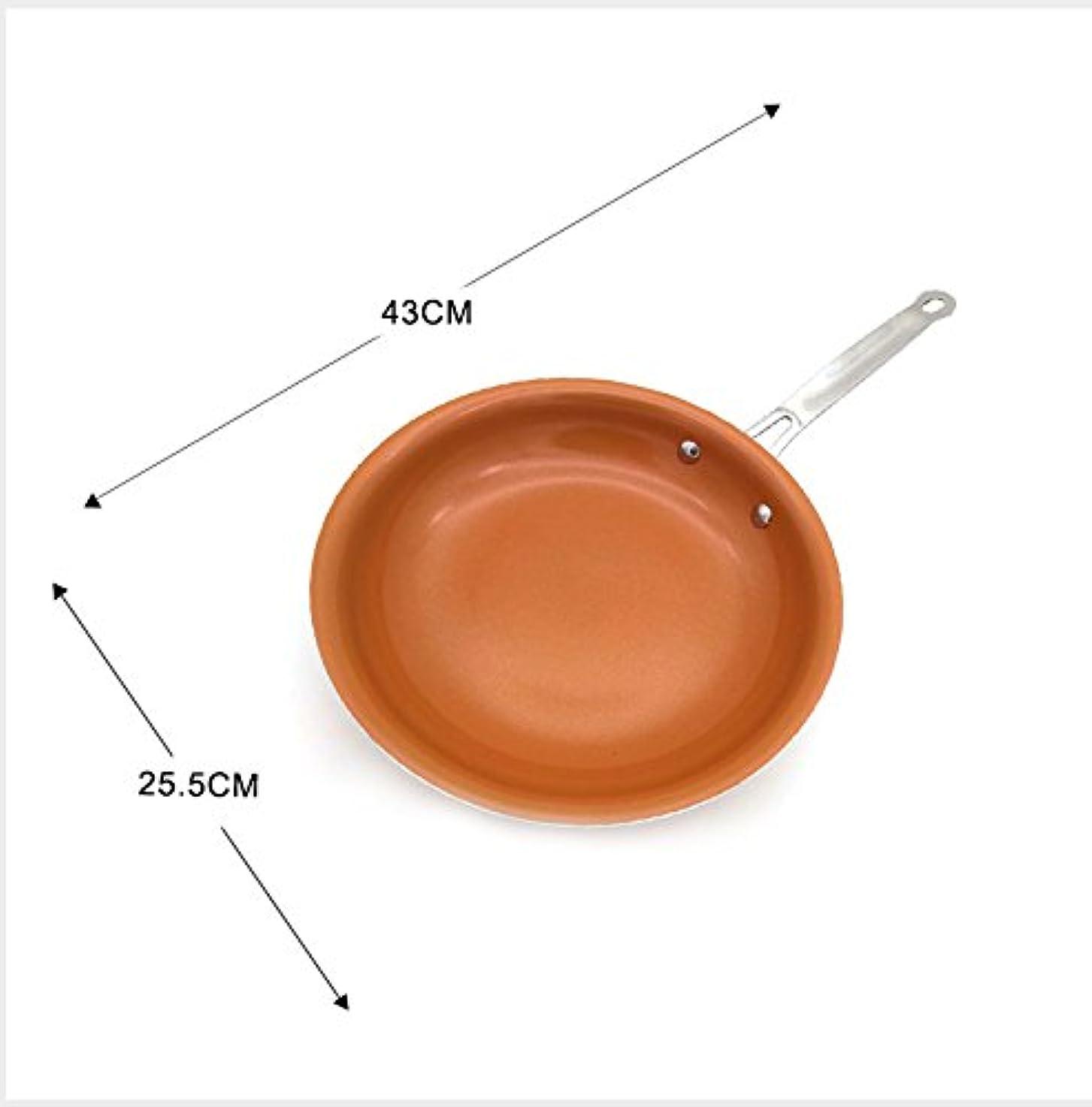 販売員ホバーフィドルノンスティック銅フライパンでセラミックコーティングと誘導調理、オーブン&食器洗い機セーフ10インチ12インチ-10 inches