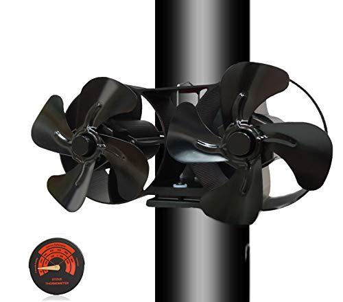 professionnel comparateur Ventilateur à double moteur silencieux avec 8 pales et un thermomètre gratuit… choix
