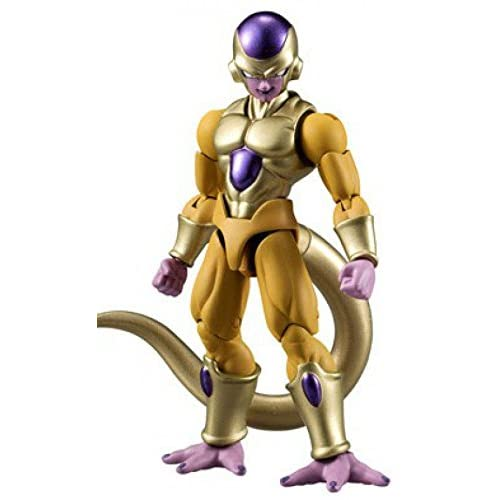 Bandai Shokugan Shodo Dragon Ball Z Golden Frieza Action Figure 3.75 Inches