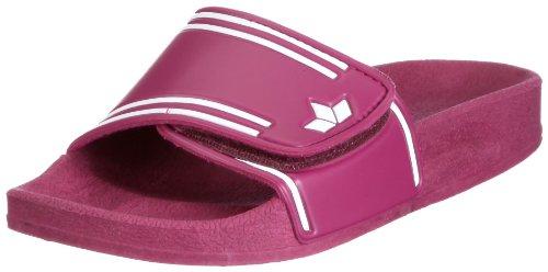 Lico Coast V, Mädchen Dusch- & Badeschuhe, Pink (pink/weiss), 36 EU