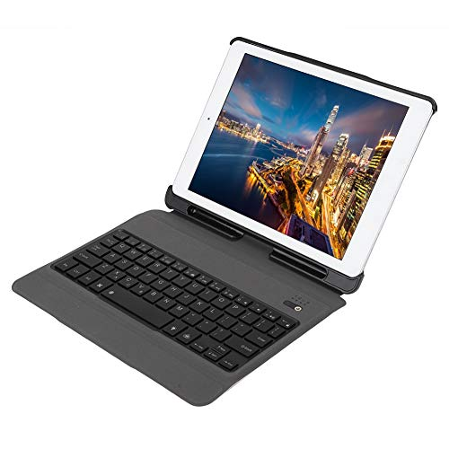 Wireless Keyboard Case, Colorful Case, Ergonomic Design Portable Waterproof for Office Tablet PC Home Business Trip(Rose gold)
