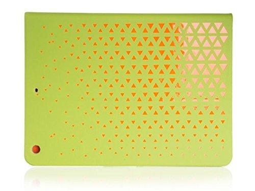Funda tipo libro para tablet PC verde libro - Naranja para Apple ipad Air