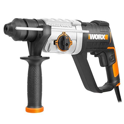 WORX,WX339, Worx Bohrhammer 800W - WX339 Schwarz, Orange