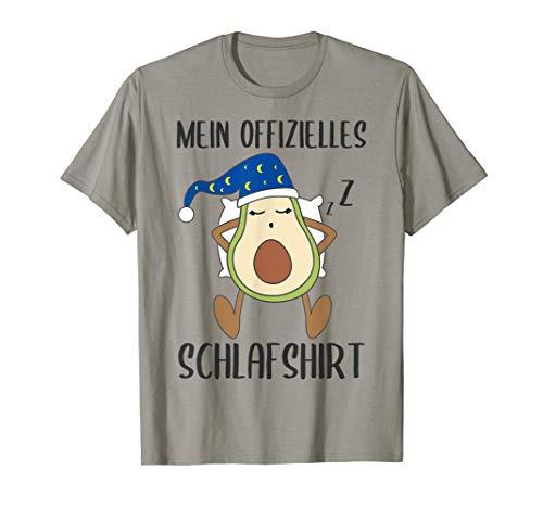 Mein Offizielles Schlafshirt Avocado Pyjama Geschenk Lustig T-Shirt