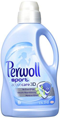 Perwoll sport activecare 3D, Waschmittel,4er Pack (4 x 1.5 L)