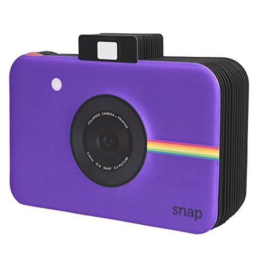 Polaroid - Album fotografico a tema istantanea, per progetti con carta fotografica 5 x 7,5 cm (Snap, Zip, Z2300), colore: lilla