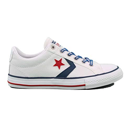 CONVERSE- Star Player EV OX- White/Navy/Gym Red- Zapatilla CONVERSE NIÑOS
