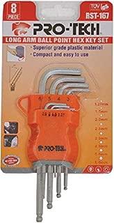Pro-tech 8 Piece Long Arm Ball Point Hex Key Set - RST-167