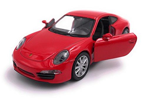 H-Customs Porsche 911 Carrera S 991 Modellauto Auto Lizenzprodukt 1:34-39 Rot OVP