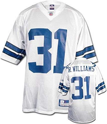 Reebok Roy Williams Dallas Cowboys Mens White NFL Equipment Jersey, Large
