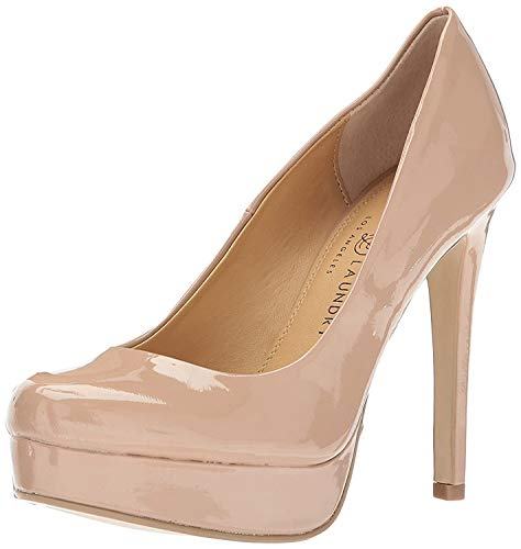 Chinese Laundry Wendy Pump Nude Patent 9.5 M