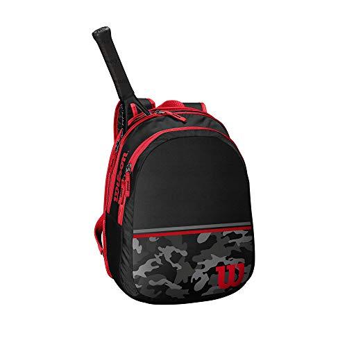 Wilson Junior Tennis Backpack – Black Camo