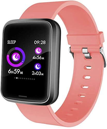 JSL Pantalla de color pulsera deportiva información del teléfono gatillo pulsera frecuencia cardíaca monitoreo de la presión arterial pulsera inteligente