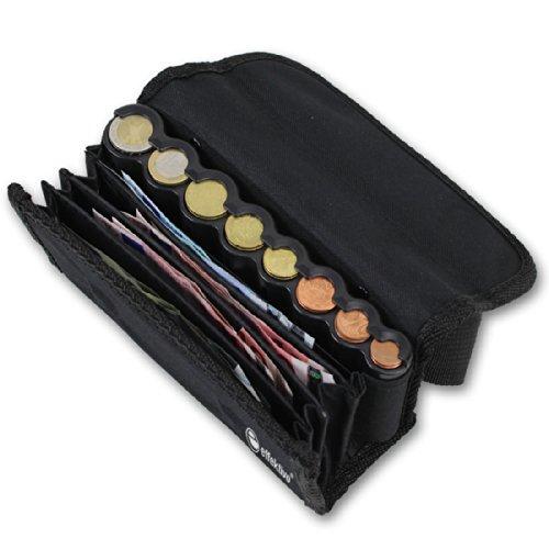 Effektivo 10575 - Monedero con Monedero y cinturón, Color Negro