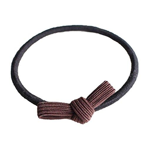 20PCS Lady Hair Band Elastic Band Hair Bows Ponytail Ties, Q