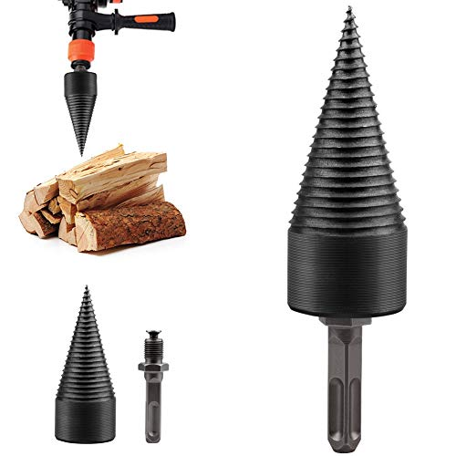 Why Should You Buy Durable Precision 32/38mm Drill Bit Chop Wood Splitting Tool Splitting Cone Log S...