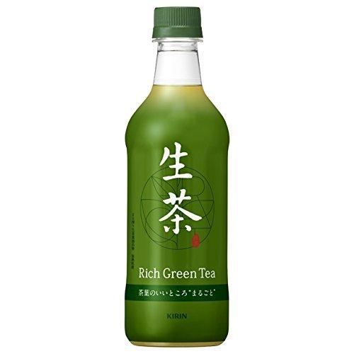 キリン 生茶 (なまちゃ)緑茶 525mlペットボトル 24本入 2ケース