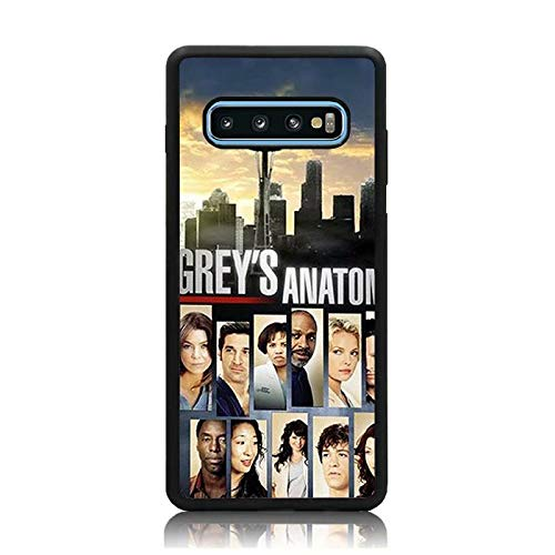 Nepond Galaxy S10 Case, Grey's Anatomy Collage Print Soft TPU + Hard Back Shock Absorption Protective Case Cover for Samsung Galaxy S10