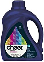 Pack of 5 - Cheer HE Liquid Laundry Detergent , 100oz , 64 loads