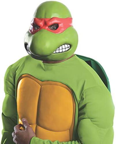Nickelodeon Teenage Mutant Ninja Turtles Adult Raphael 3 4 Mask Green One Size product image