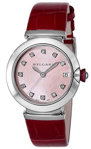 [ブルガリ] 腕時計 ピンクパール文字盤 LU33C2SLD/11 レディース 並行輸入品 レッド