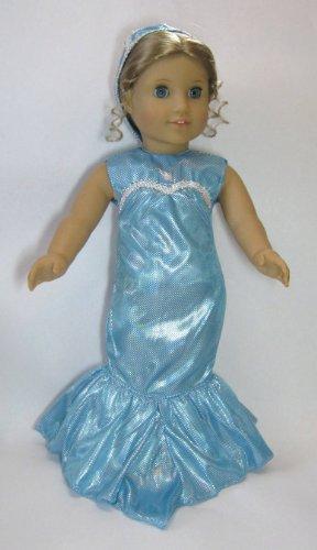 """Mermaid Costume. Fits 18"""" Dolls like American Girl®"""