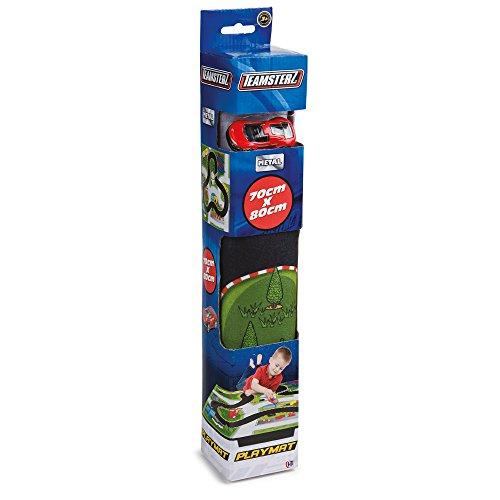 Grandi Giochi- Tappeto con 1 Auto, Multicolore, GG00974