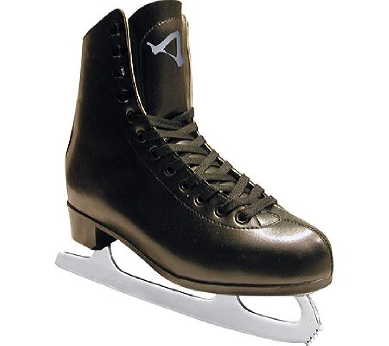 ペナルティ欠伸頼むアメリカンアスレチック フィギュアスケート靴 554(黒) 28cm