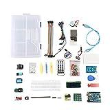 UNO Project Starter Kit para principiante Super Learning Kit compatible con Arduino IDE UNO R3 controlador
