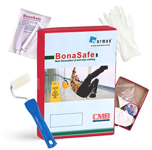 BonaSafe - Permanenter Anti-Rutschbelag für Fliesen, Duschen, Badewannen | Rutschsicherheitswert C nach DIN 51097 (Bester Wert) | Bona Safe Anti-Rutsch Farbe