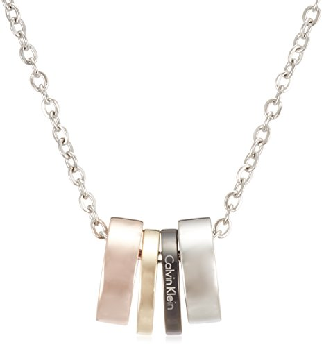 Calvin Klein Collar con colgante Mujer acero inoxidable - KJ7GBN400100