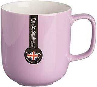 Price & Kensington Stoneware Mug, 13-1/2-Fluid Ounces, Pastel Pink