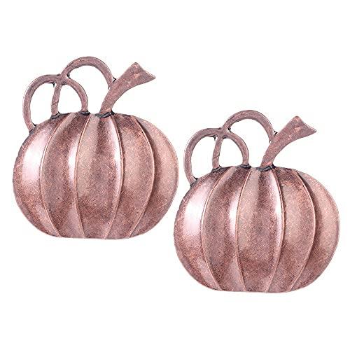 Generic 2 anelli per Halloween, in bronzo, con zucca e zucca