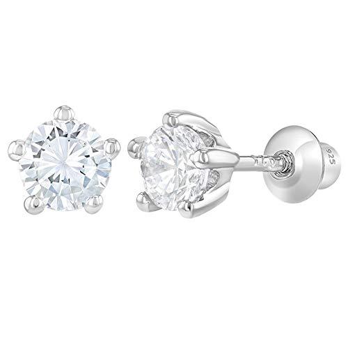In Season Jewelry - 925 Plata Ley Circonitas Claras
