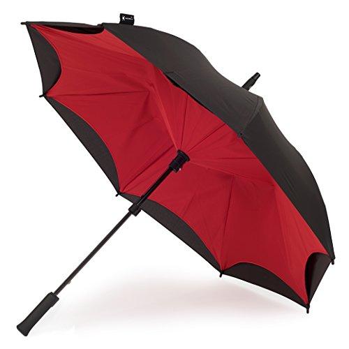 KAZbrella, Stockschirm, rot/schwarz (Rot) -
