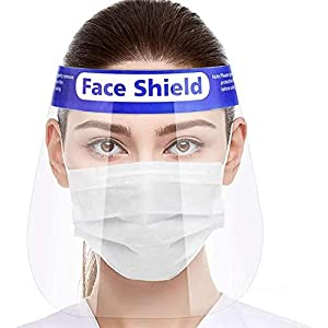 Straame FV01 Visiera di Sicurezza Trasparente Full Protection cap Wide Visor