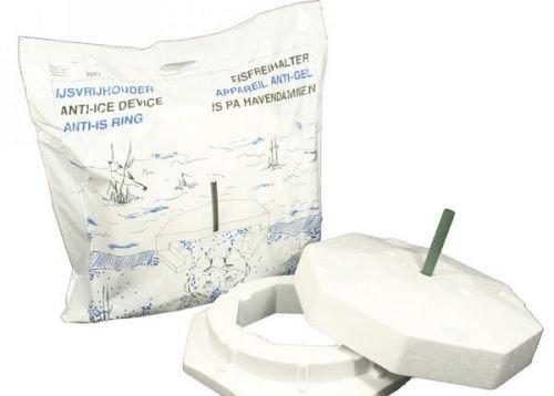 Eisfreihalter für Gartenteich Styropor Eisfreihalter von Pond-Life 8-Eckig 40cm mit Lüftungsrohr