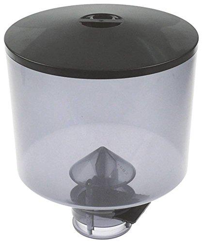 La-Pavoni Kaffeebohnenbehälter für Kaffeemühle mit Deckel Höhe 211mm ø 185mm Aufnahme ø 65mm