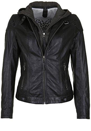 Gipsy Cacey Frauen Lederjacke schwarz 3XL 100% Leder Basics, Biker, Casual Wear