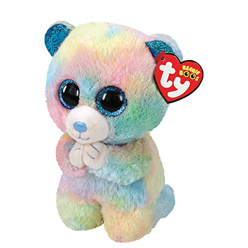 Claire's Ty Beanie Boo Small Hope The Bear Plush Toy
