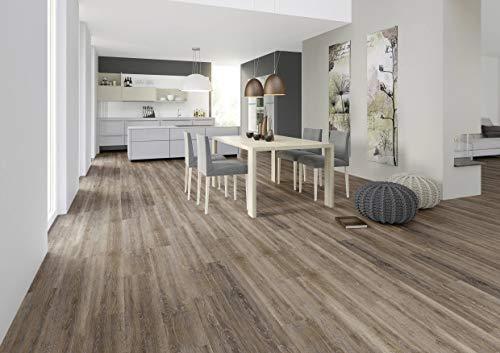 JOKA Classic Designböden330 2,0mm/NS 0.4mm Dryback 2863 Brown Limed Oak 18,42x121,92cmPaket 3,37 m² Vinylboden Klebevariante