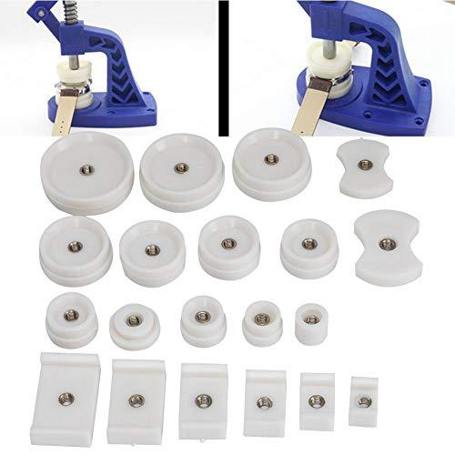 Herramienta de reparación de relojes, reloj profesional Herramientas de caja trasera de prensa Accesorios para máquinas taponadoras Matriz de prensa de caja trasera para herramientas de reparación de