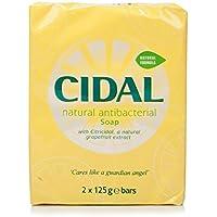 Cidal 250g Natural Antibacterial Soap - Pack of 2