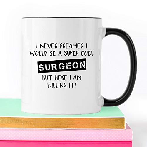 Taza de café cirujano cirujano taza de café regalo médico cirujano regalo regalo médico cirujano taza regalo regalo para cirujano divertido taza de café