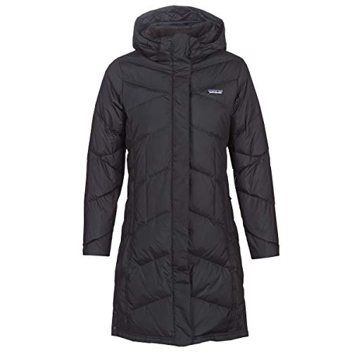 Patagonia W's Down with It Parka, Mujer, Black, S