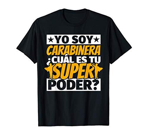 Carabinera Regalos divertidos Camiseta