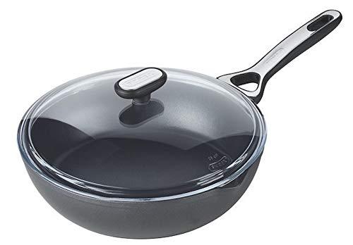 Pyrex Origin+ Healthy Non-Stick Frying Pan - Suitable for All Heat Sources Including Induction - Aluminium - Quartz Grey - 26 cm 1454036